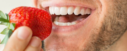 Teeth-Whitening Food: Truth Or White Lie?
